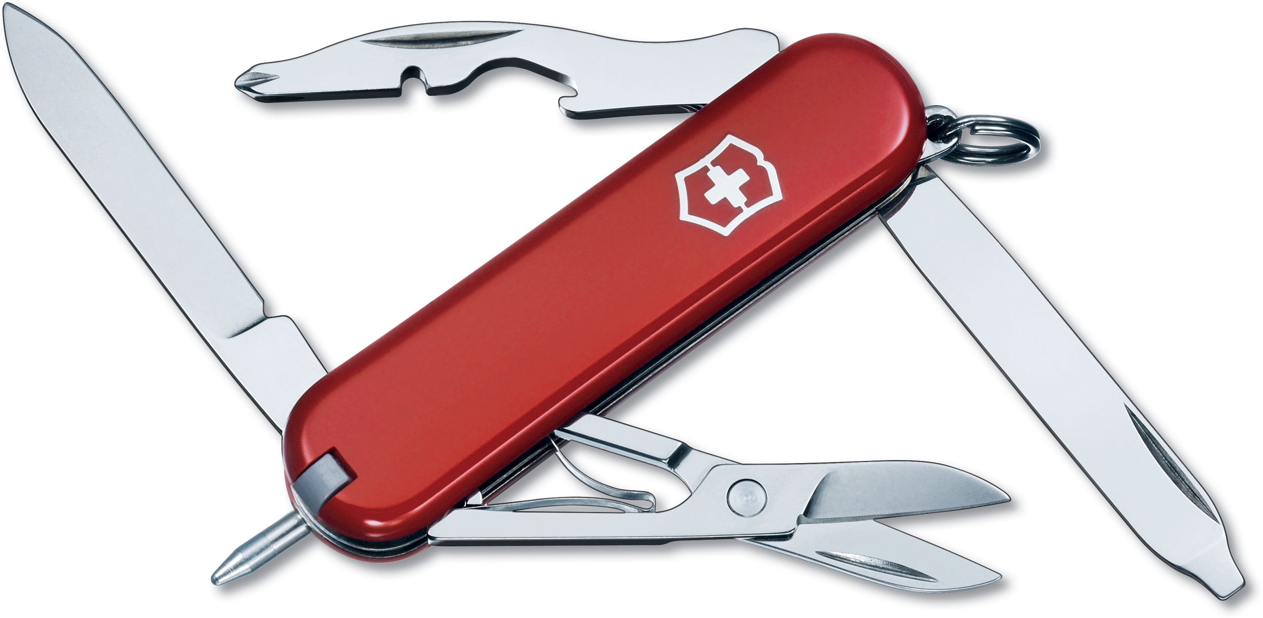 Victorinox Swiss Army Manager Multi-Tool, Red, 2.28 inch Closed