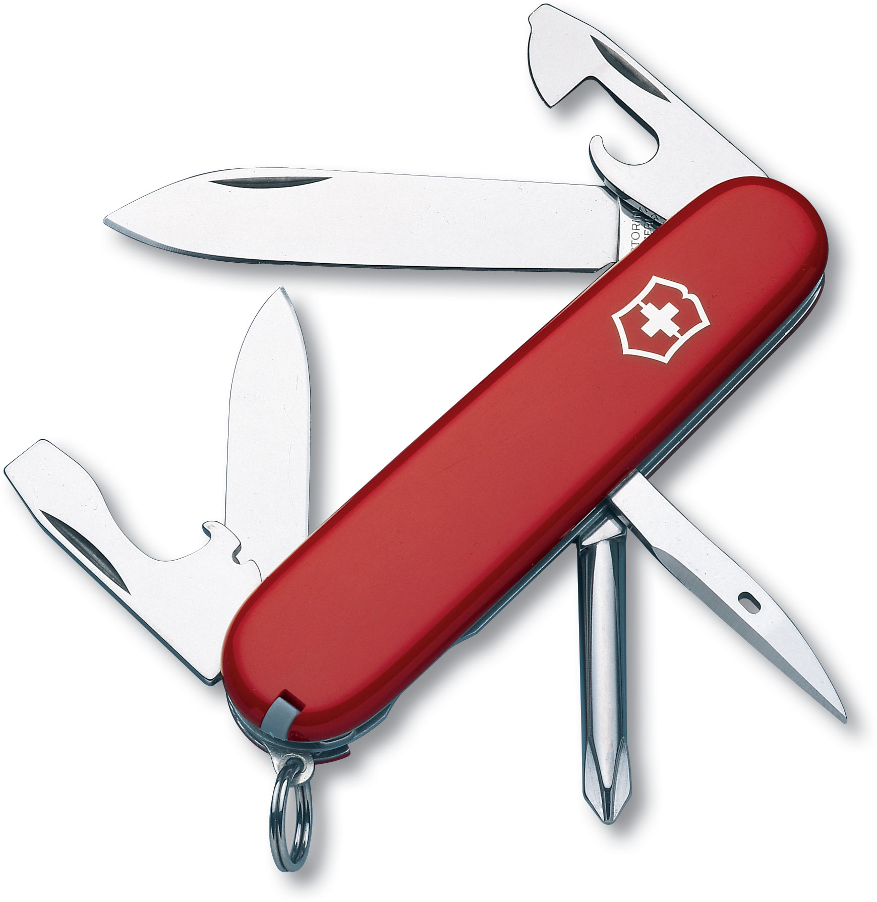 Victorinox Swiss Army Tinker Multi-Tool, Red, 3.58 inch Closed