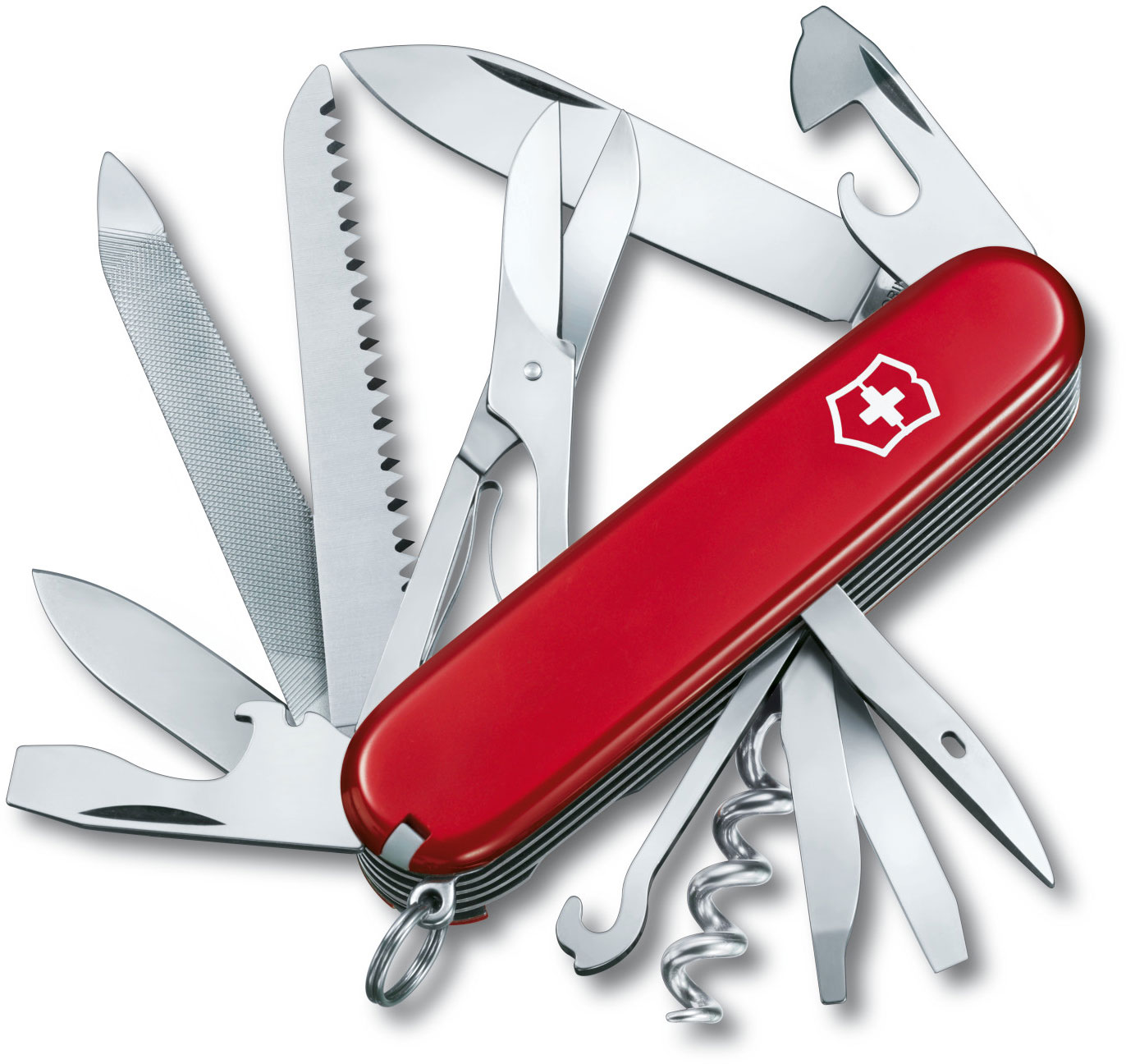 Victorinox Swiss Army Ranger Multi-Tool, Red, 3.58 inch Closed