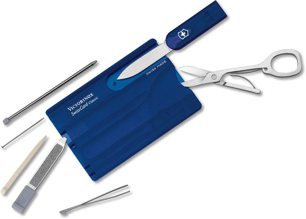 Victorinox Swiss Army SwissCard Multi-Tool, Translucent Sapphire