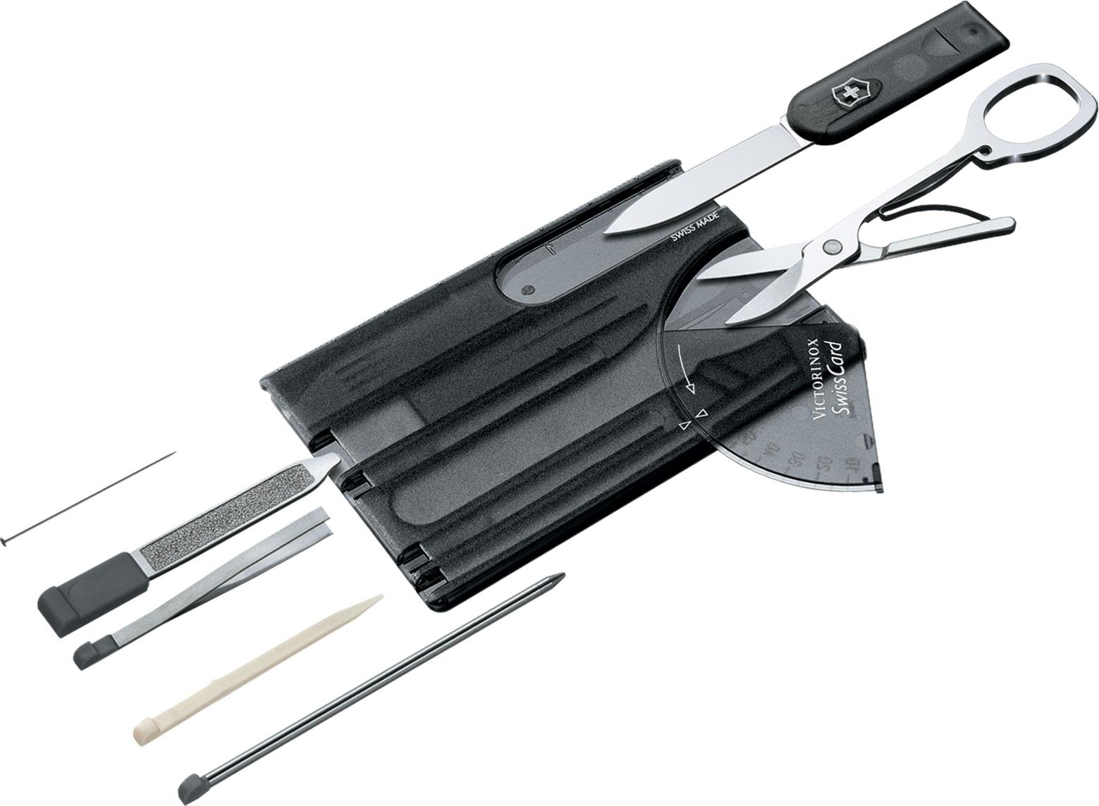 Victorinox Swiss Army SwissCard Multi-Tool, Translucent Onyx