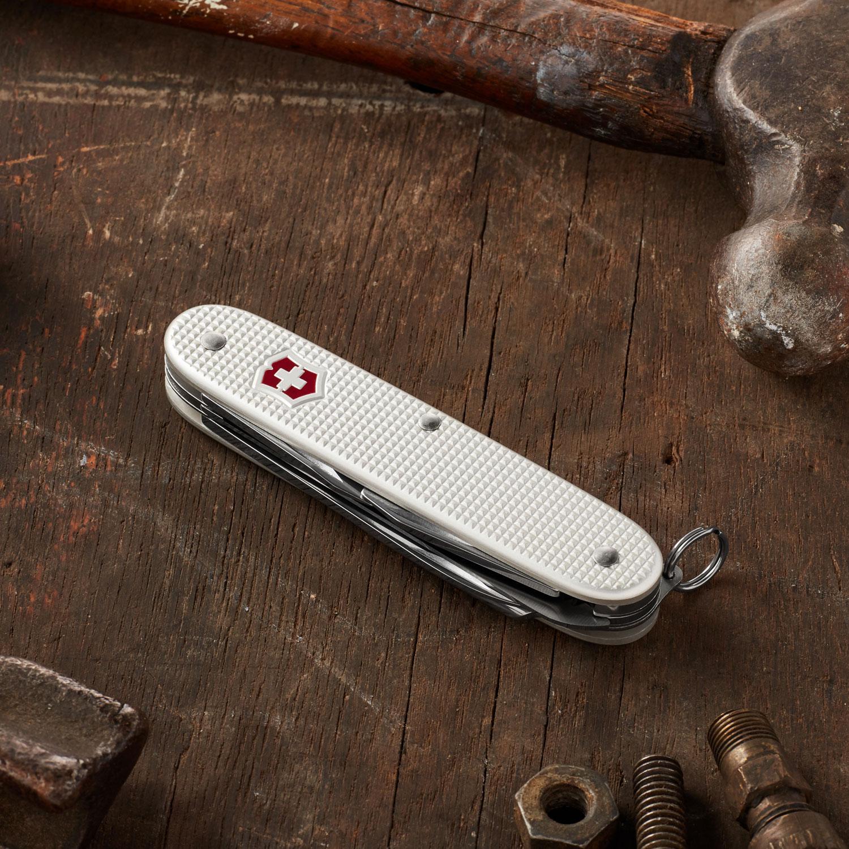Victorinox Swiss Army Farmer Multi Tool Silver Alox 3 58