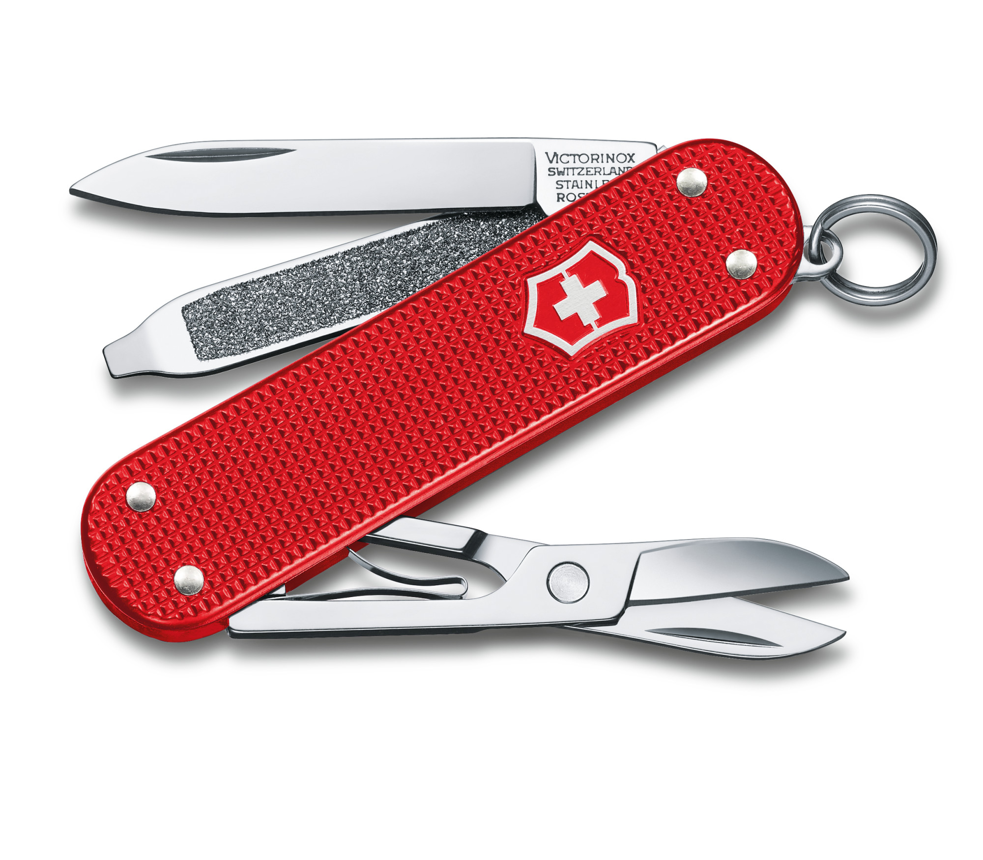 Victorinox Swiss Army Classic SD Alox Berry Red Limited Edition 2018 Multi-Tool, 2.25 inch Closed