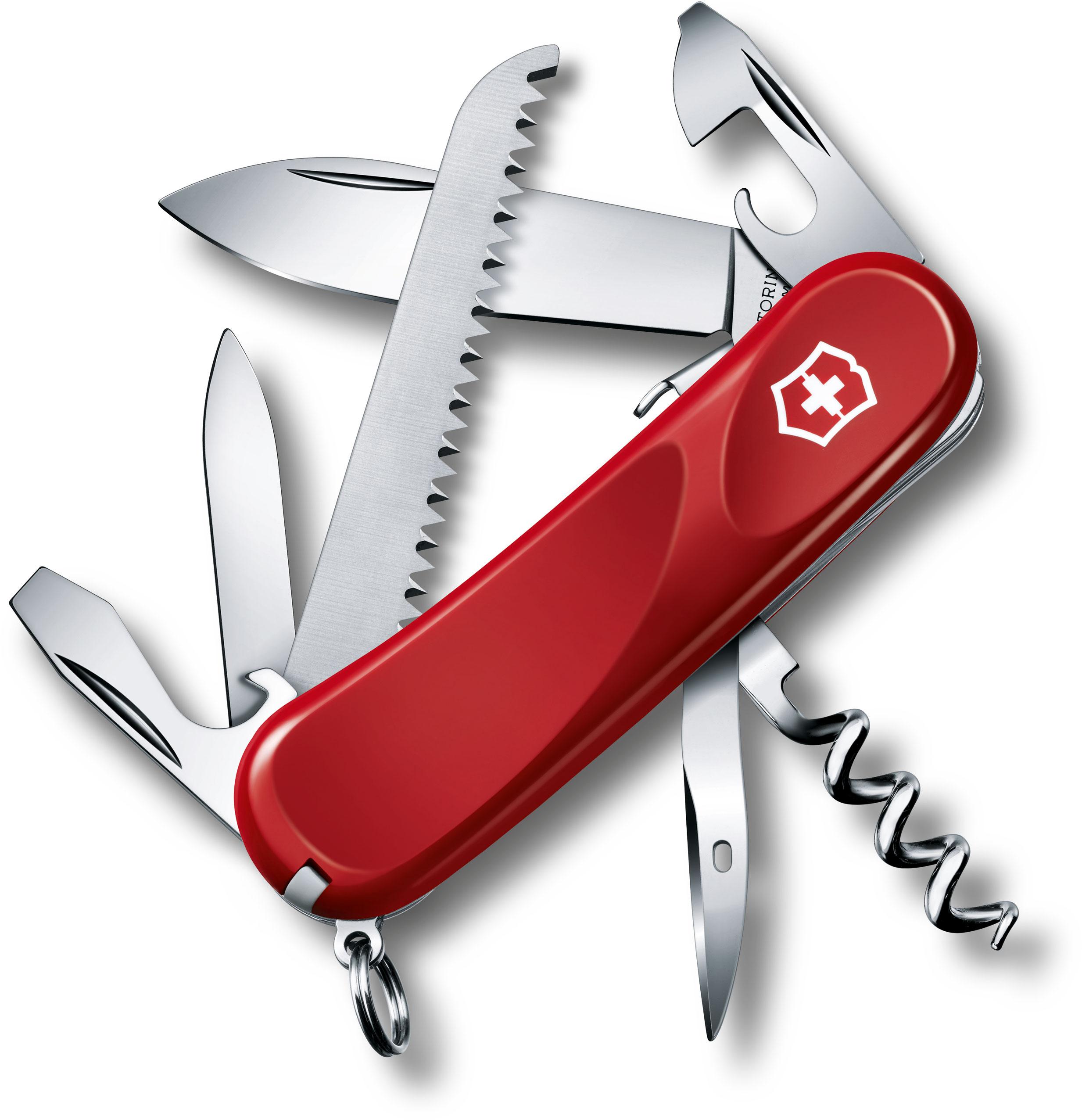 Victorinox Swiss Army 2.3813.SE Locking Evolution S13 Multi-Tool 3-3/8 inch Red Handles
