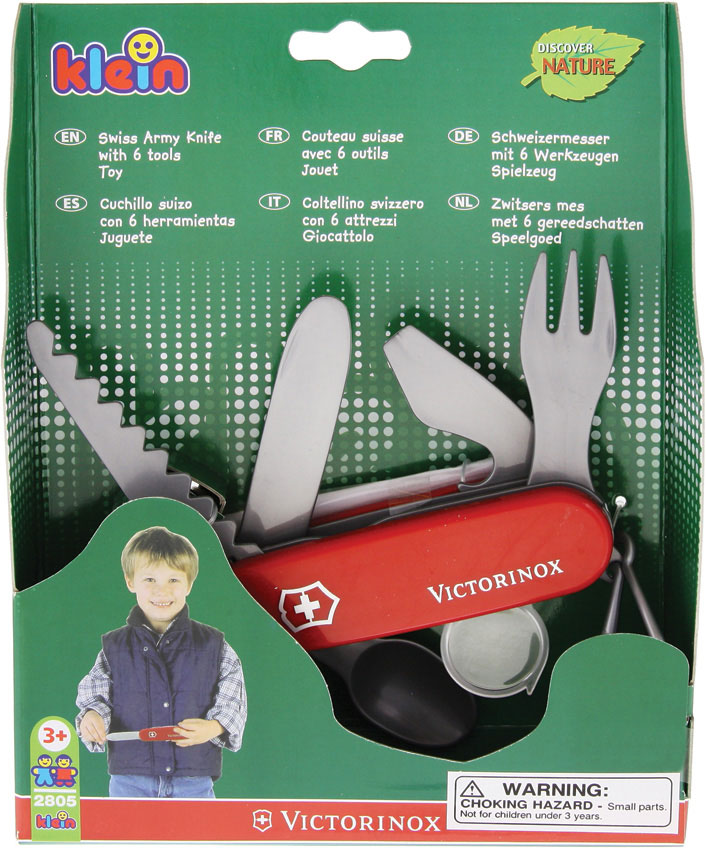 Toy Victorinox Swiss Army Knife By Theo Klein Red Handles