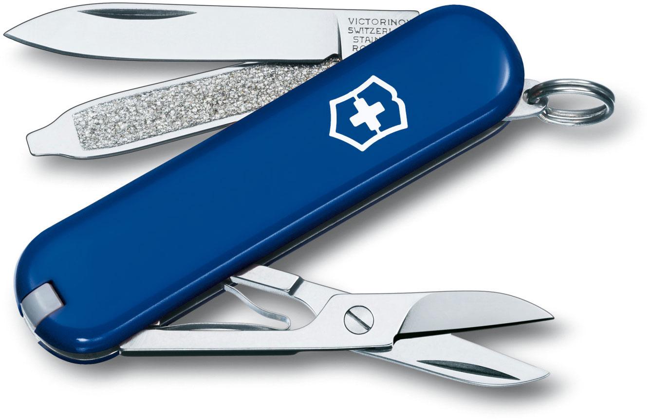 Victorinox Swiss Army Classic SD Multi-Tool, Blue, 2-1/4 inch Closed
