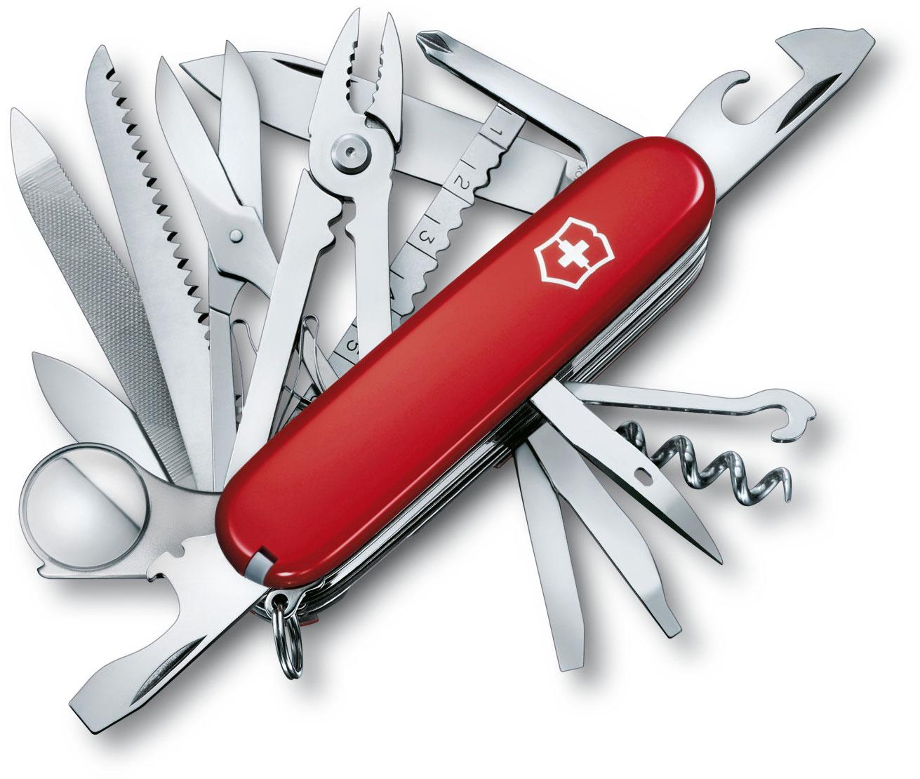 Victorinox Swiss Army SwissChamp Multi-Tool, Red, 3.58 inch Closed