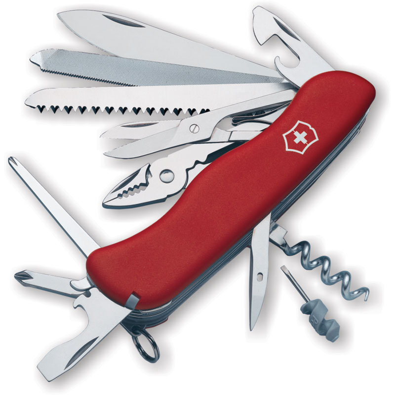 Victorinox Swiss Army Workchamp Multi Tool Red 4 37