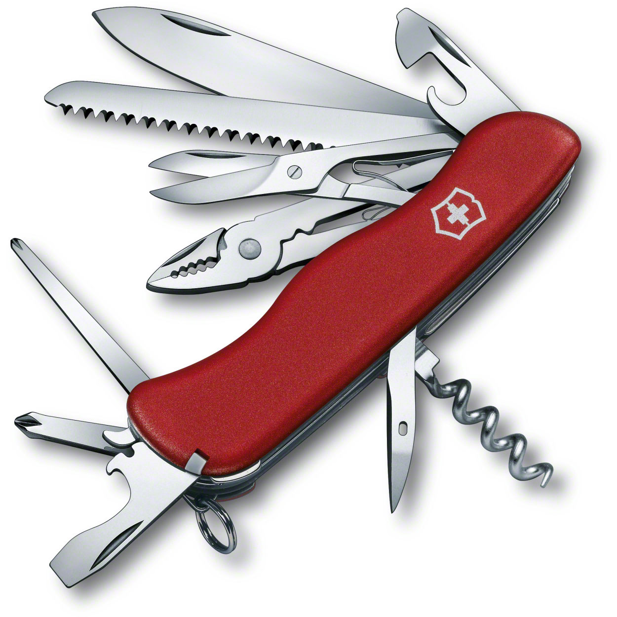 Victorinox Swiss Army Hercules Multi-Tool, Red, 4.37 inch Closed