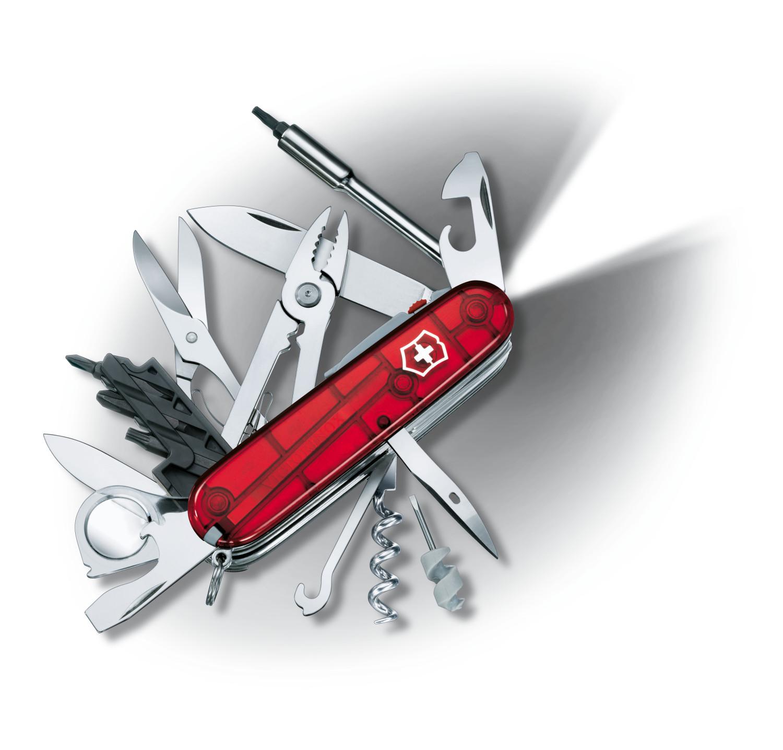 Victorinox Swiss Army Cybertool 34 Lite In Ruby Multi Tool