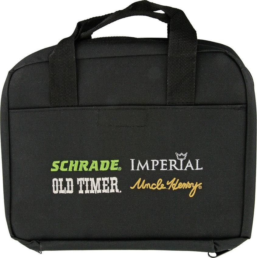 Schrade 2016 Knife Storage Bag, 10 Pockets