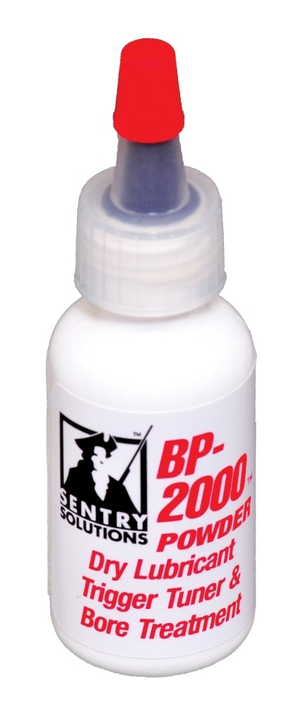 Sentry Solutions BP2000 Powder, Dry Lubricant Trigger Tuner and Bore Treatment (91040)