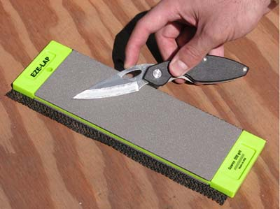 EZE-LAP Super Fine/Coarse 3 inch x 8 inch Double Sided Stone