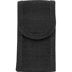 Black 4.0 inch Cordura Belt Sheath - Fits folders up to 4.0 inch