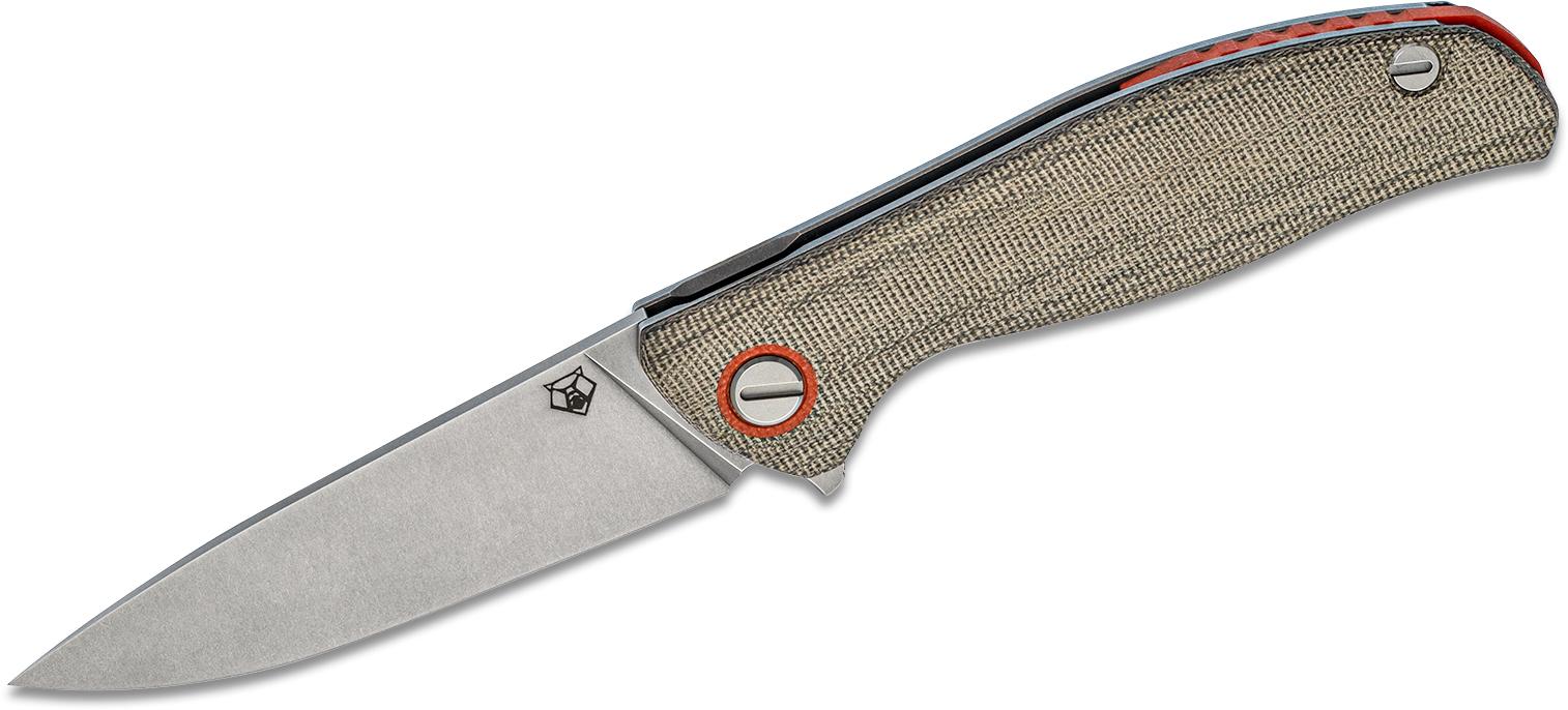 Shirogorov Model F3 Flipper Knife 3 875