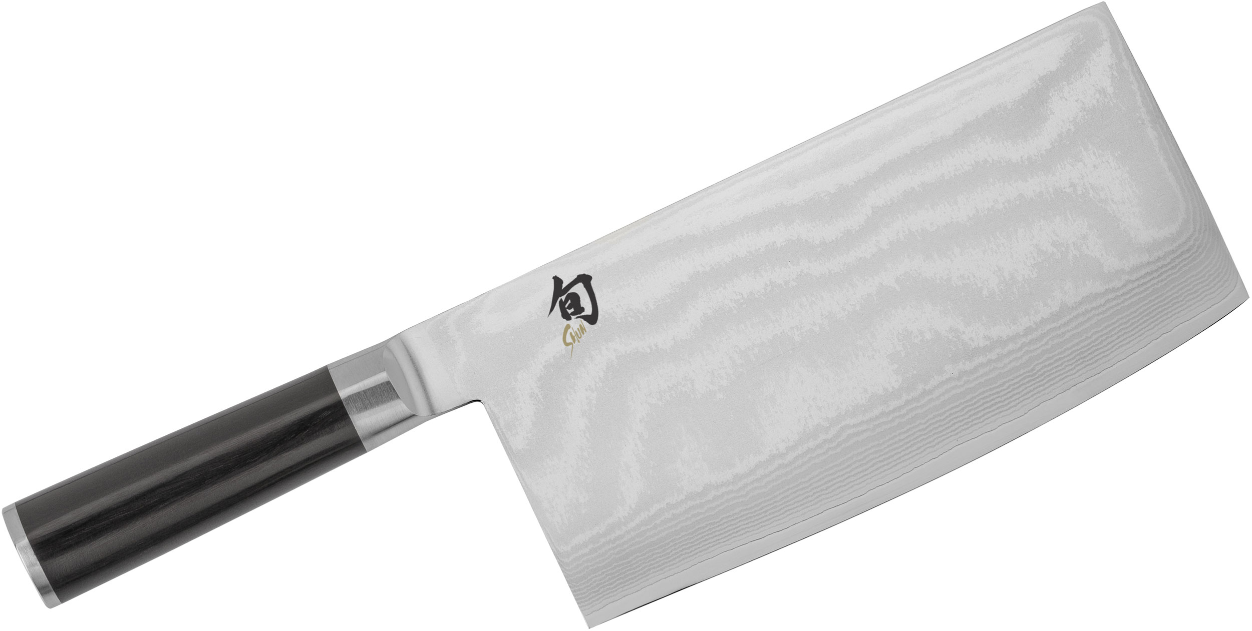 Shun DM0712 Classic Vegetable Cleaver 7.75 inch Blade, Pakkawood Handle