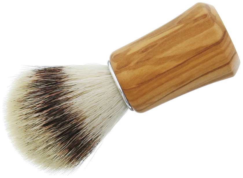 Simba Tec RAZOLUTION Synthetic Shaving Brush, Wood
