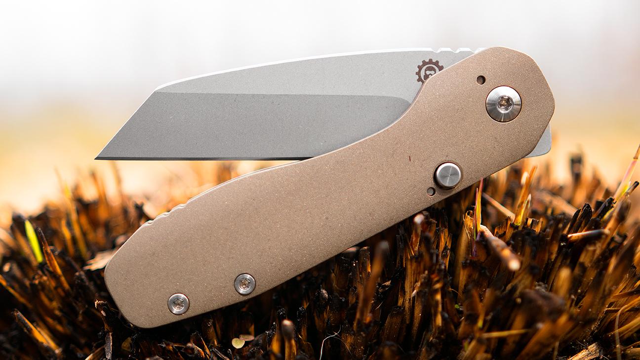 Smock Knives Custom SK23 Flipper Knife 3 125