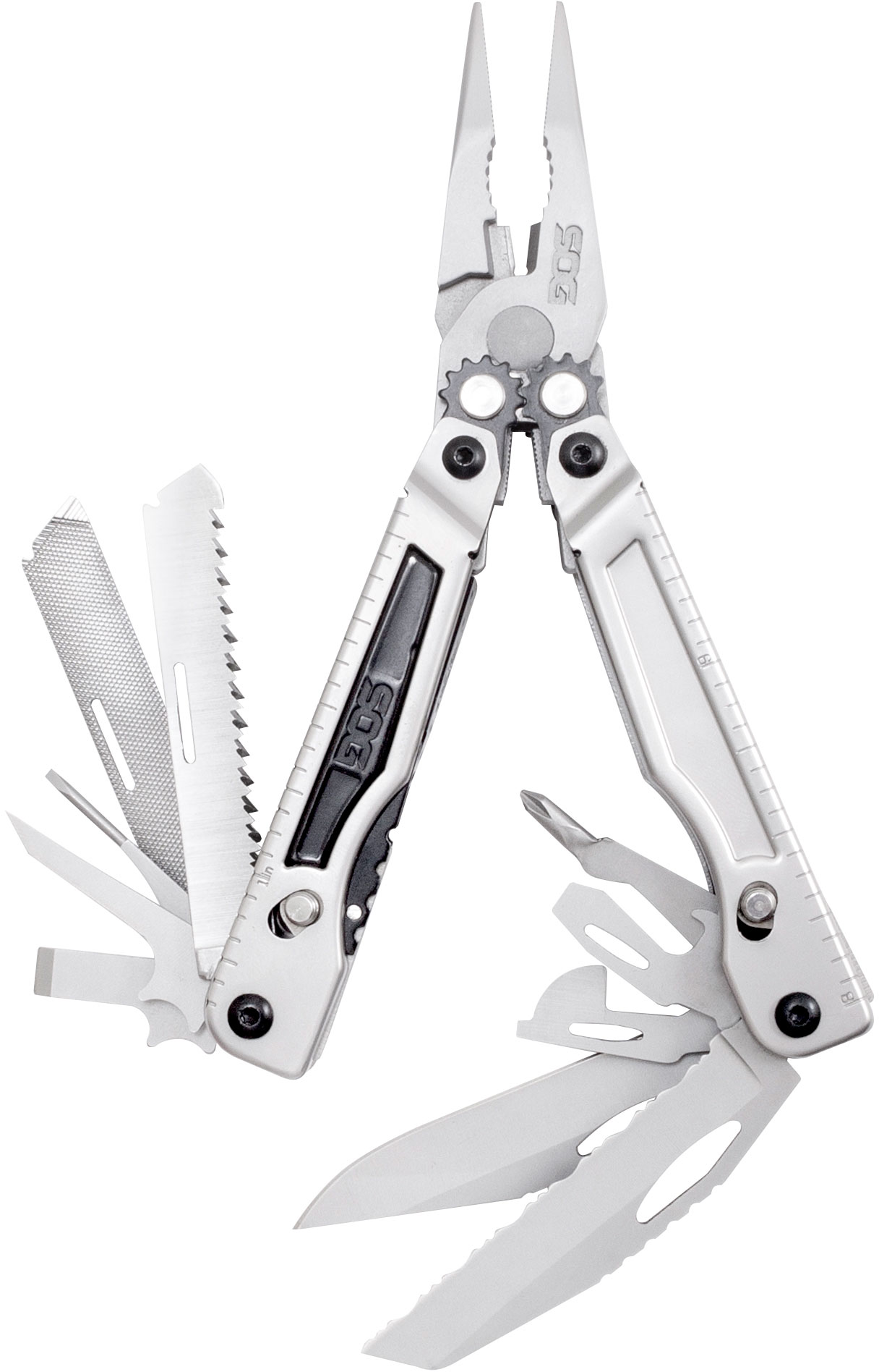 SOG PowerPlay Multi-Tool with Nylon Sheath and Extra Hex Bits