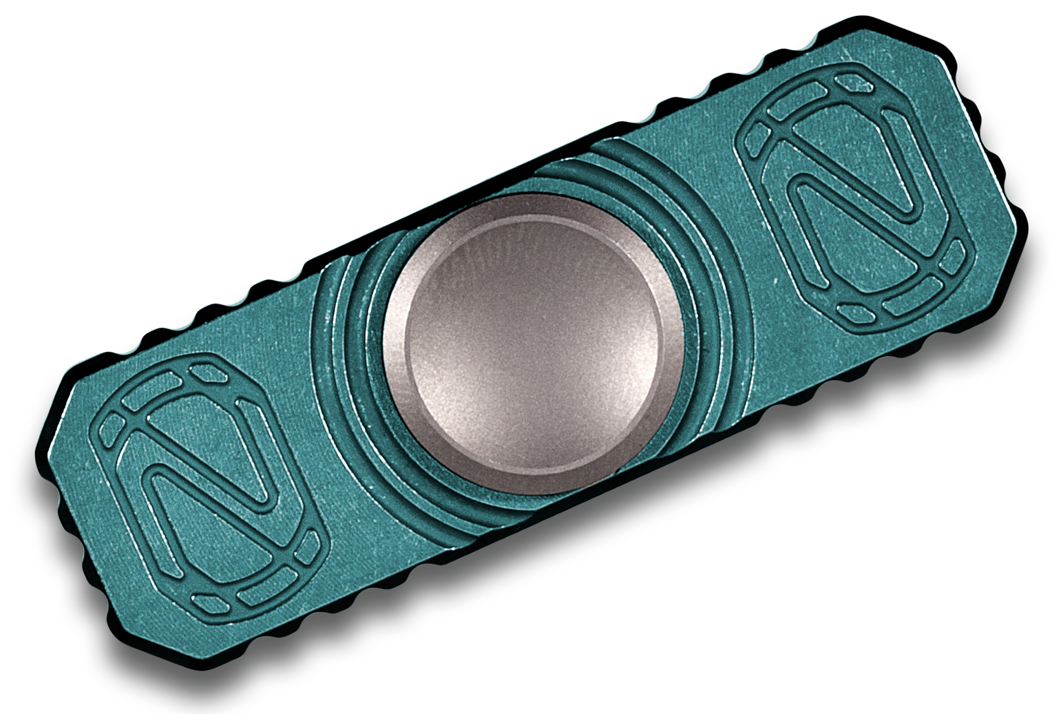 Stedemon Blue Key Chain Hand Fidget Spinner Z05BLU