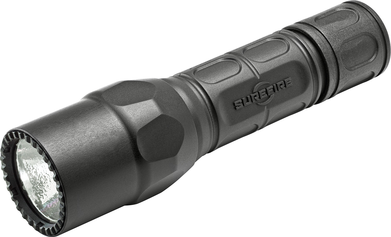 SureFire G2X Tactical Single-Output LED Flashlight, Black, 600 Lumens