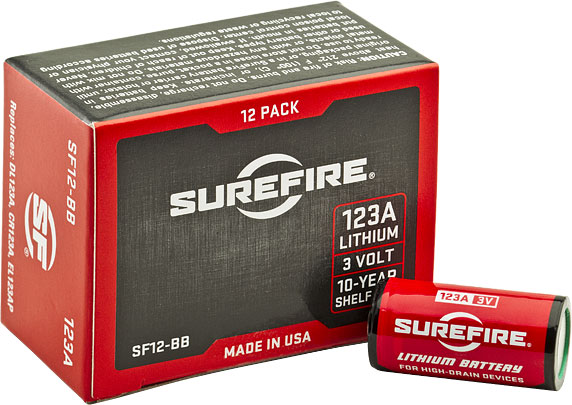 SureFire Bulk Pack of 400 SureFire 123A Lithium Batteries