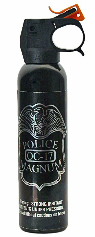 Police Magnum OC-17 Pepper Spray, 9 oz.