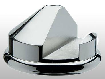 Taylor of Old Bond Street Paperweight Nickel Razor Stand for Gillette Mach3 Safety Razor