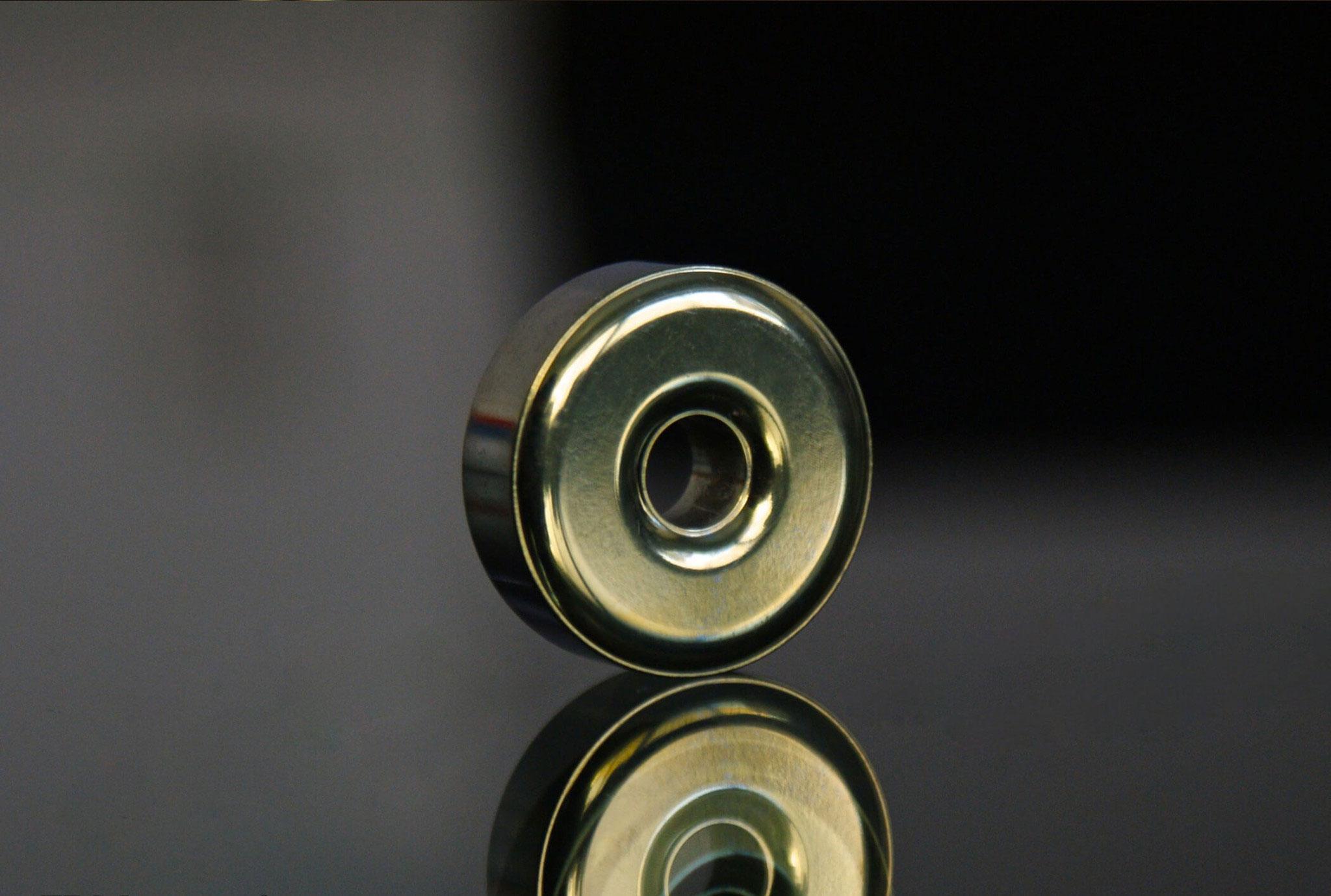 TEC Accessories R1 Titanium Lanyard Bead, Pineapple
