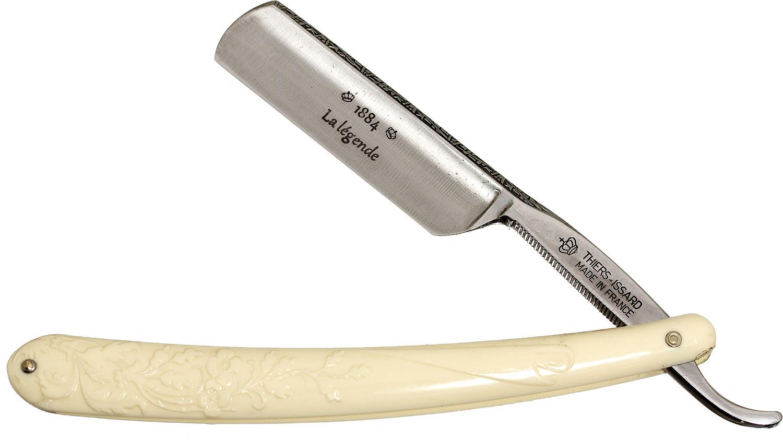 Thiers-Issard Limited Edition La Legende 1886 Feston Straight Razor 6/8 inch Blade, Decorated Spine