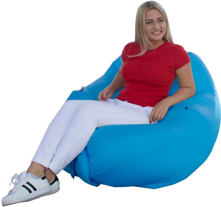 UST Ultimate Survival SlothSak Self-Inflating Chair, Blue