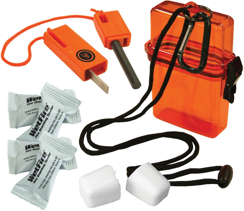 UST Ultimate Survival Fire Starter Kit 1.0, Orange