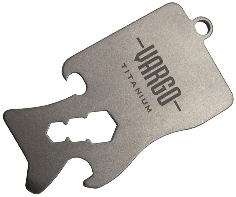 Vargo Titanium Keychain Tool - 1.2 (T-425)