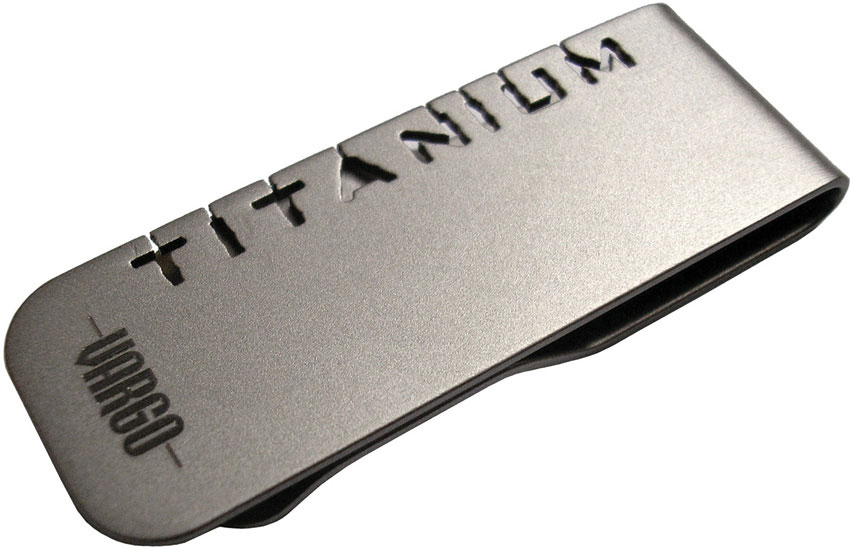 Vargo Titanium Money Clip (T-428)