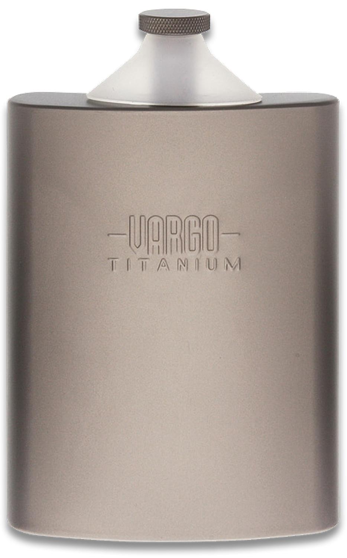 Vargo Titanium Funnel Flask