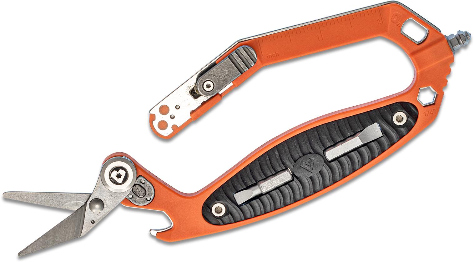 V Nives CRAB Cut Rescue Assist Break Multi-Tool, Orange FRN
