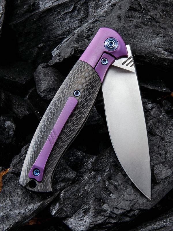 We Knife Company 901A Deacon Flipper Knife 3 25