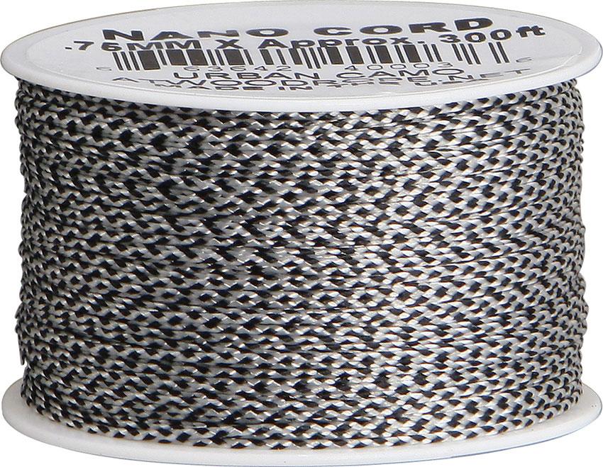 Nano Cord, Urban Camo, 300 Feet x 0.75 mm