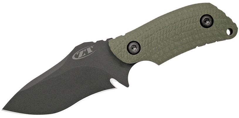 Zero Tolerance Model 0121 Fixed 4-1/4 inch S30V Blade, Ranger Green G10 Handles
