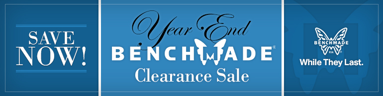 Year End Benchmade Clearance Sale