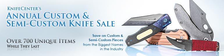 Annual Custom Knife Sale