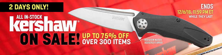 Kershaw Holiday Sale
