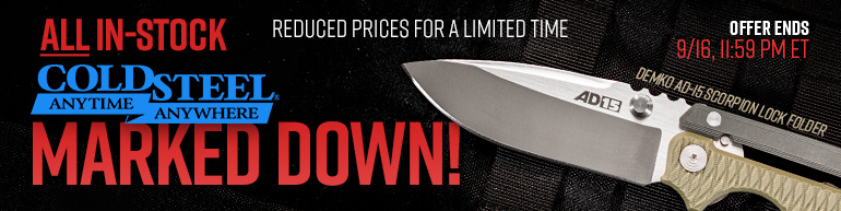 Cold Steel Sale