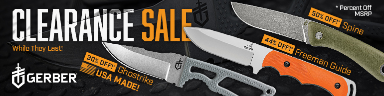 Gerber Clearance Sale