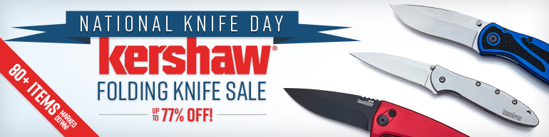 National Knife Day Kershaw Folding Knife Sale