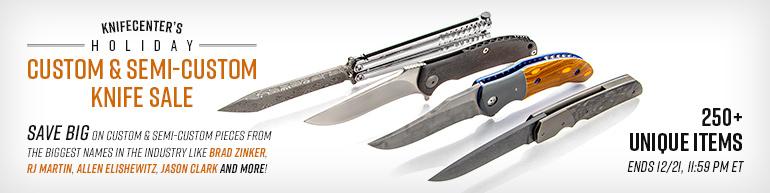 Custom and Semi-Custom Knives on Sale