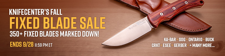 Fall Fixed Blade Sale