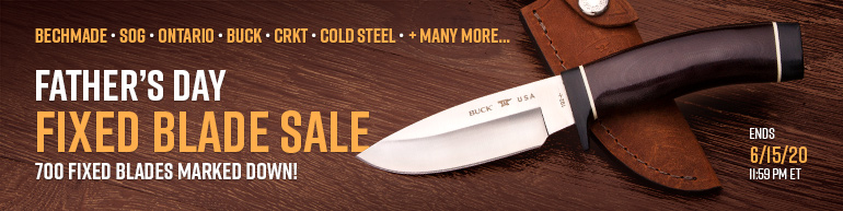 Father's Day Fixed Blade Sale