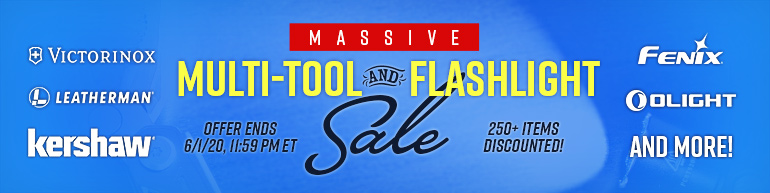 Massive Multi-Tool and Flashlight Sale
