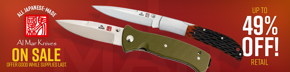 Al Mar Knives On Sale